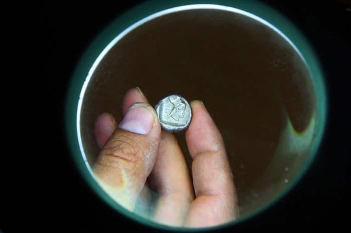 Серебряная монета позднего архаического периода