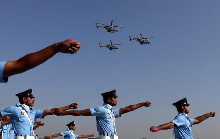 Солдаты ВВС Индии