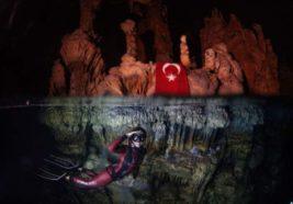 Турецкая рекордсменка по фридайвингу
