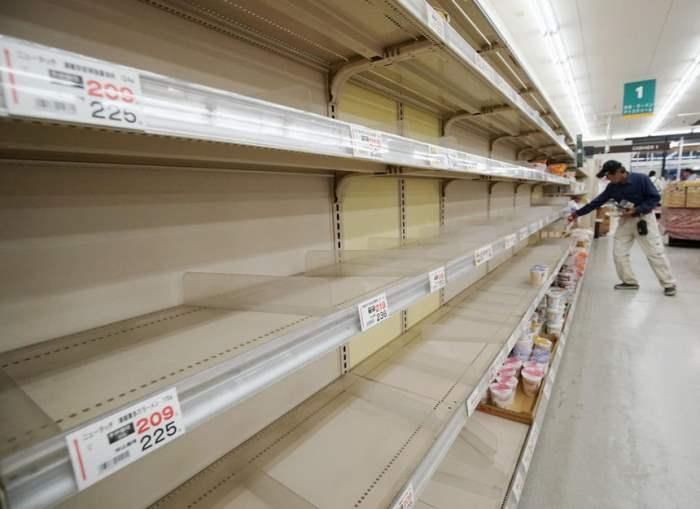Япония готовится к мощному тайфуну