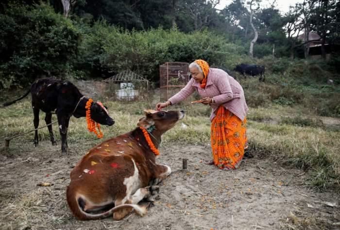 в Катманду, Непал