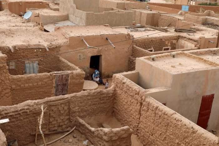 в старом городе Агадес, Нигер