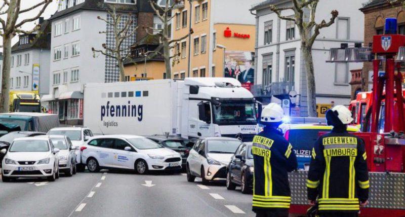 германия грузовик