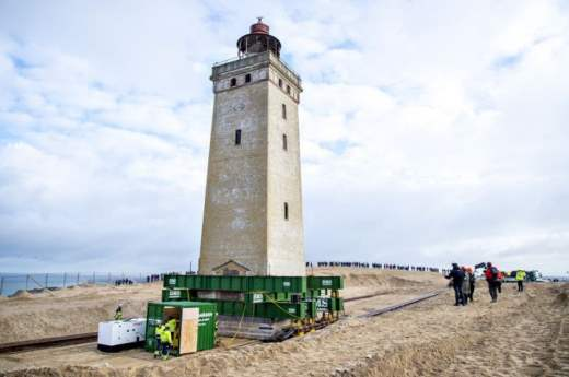 дания маяк