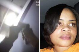 застрелил женщину полицейский