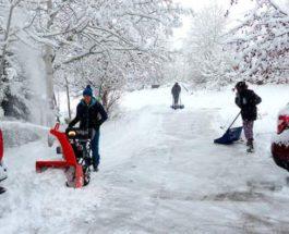 колорадо снег