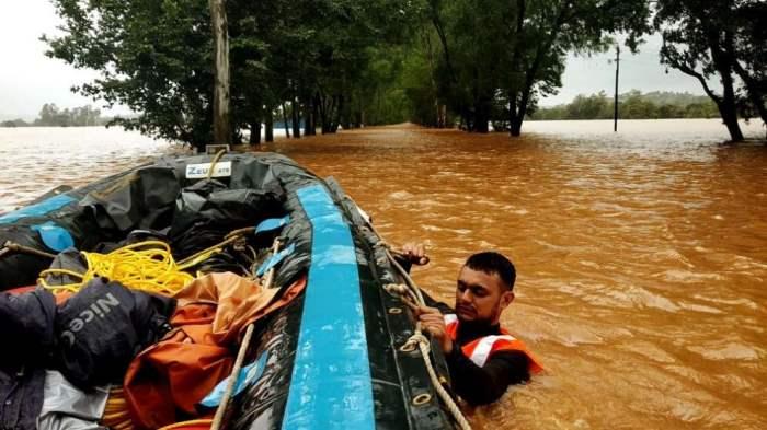 наводнения Саудовская Аравия