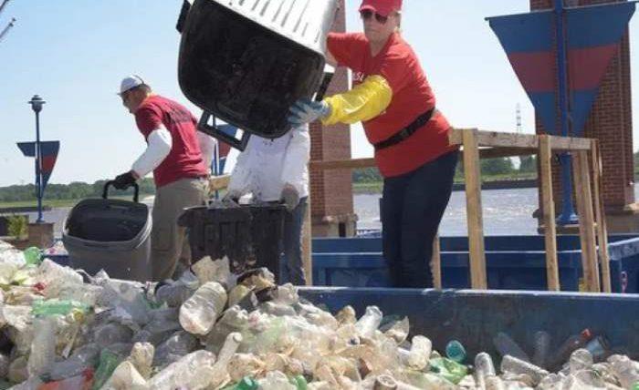 пластик загрязнение