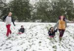 снег сша