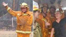Австралия пожарные