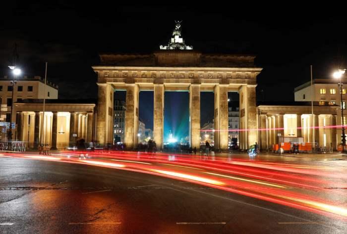 Бранденбургские ворота в Берлине, Германия.