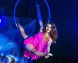 Воздушная гимнастка Татьяна Сурина