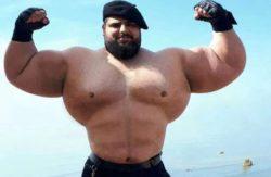 «Иранский Халк» будет участвовать в боях BKFC