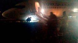 """""""Все запаниковали"""" – В Одессе самолет Turkish Airlines сильно пострадал при посадке (ВИДЕО)"""