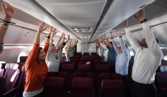 Пассажиры рейса Qantas