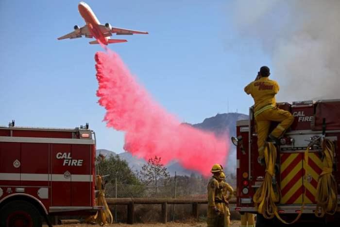 Пожарные Калифорнии