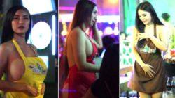 Полуголые официантки оштрафованы за обслуживание клиентов в Таиланде (18+)