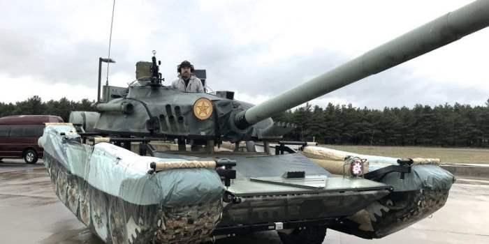 Русские танки в Айдахо