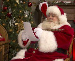 Санта письмо