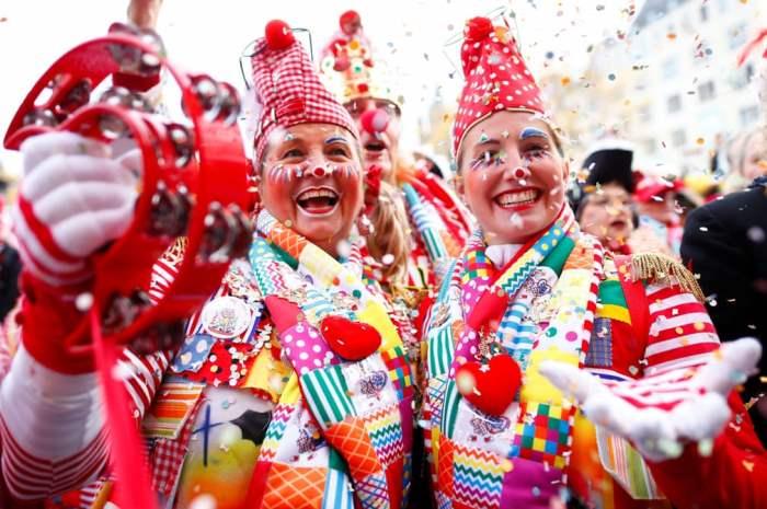 Торжества в первый день карнавального сезона