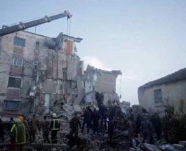 албания землетрясение