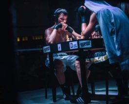 в матче по шахматному боксу