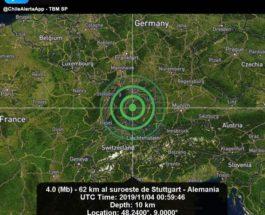 германия землетрясение