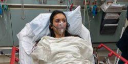 Нина Добрев опубликовала фото из больницы, куда она попала после анфилактического шока