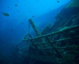 останки судна
