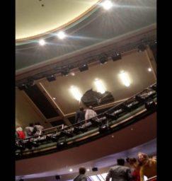 потолок лондон театр