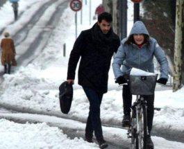 снег франция