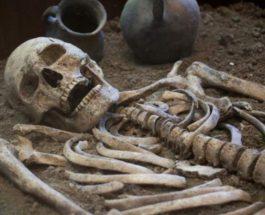 средневековые останки вампиров