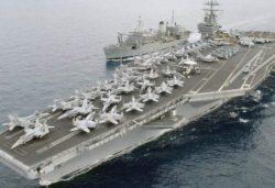 Авианосец ВМС США и подводная лодка вошли в Средиземное море