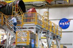 Первая ступень сверхмощной ракеты NASA готова