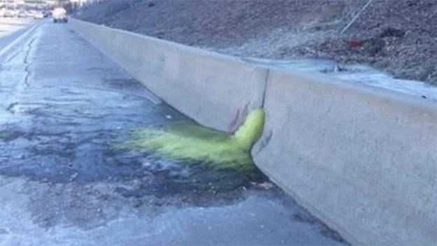Вызывающая рак зеленая слизь