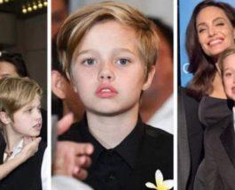 Дочь Анджелины Джоли и Брэда Питта