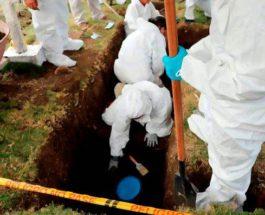 Колумбия,братская могила