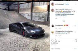 Модель заработала на Lamborghini благодаря постам своих фото в Instagram (ФОТО 18+)