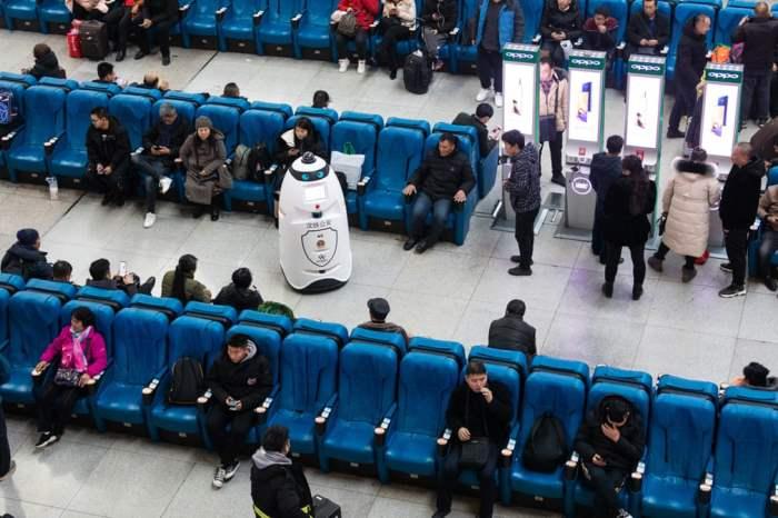 Полицейский робот