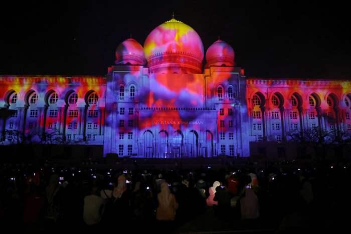 Проекция 3D на Дворец