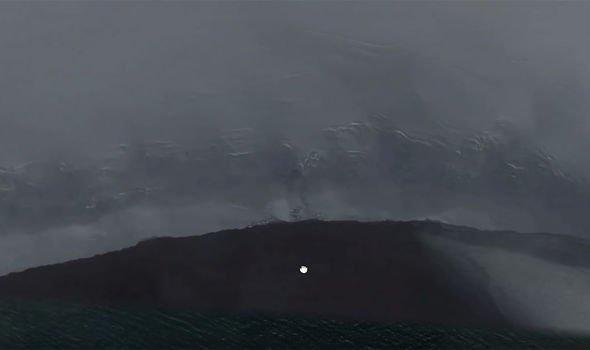 антарктида пещера