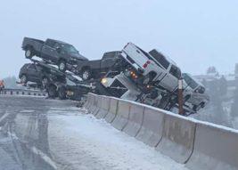 грузовик завис