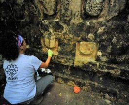 дворец майя в Мексике