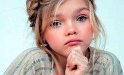 Брошенная родителями девочка стала моделью (ФОТО)