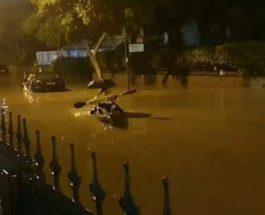 израиль наводнение