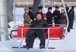 Ким Чен Ын открывает роскошный горный курорт