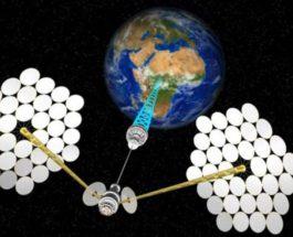 китай космическая электростанция