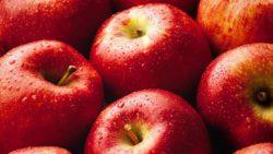 Красные яблоки исчезают из-за изменения климата