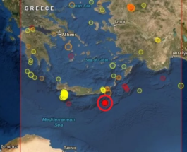 крит землетрясение