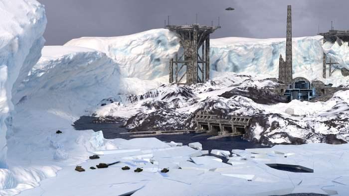 нацистская база в антарктиде